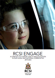 cover image for RCSI Engage Strategy 2019-2023