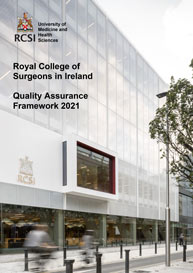 cover image for RCSI Quality Framework 2020