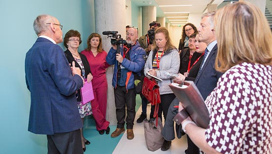 RCSI engagement with the media