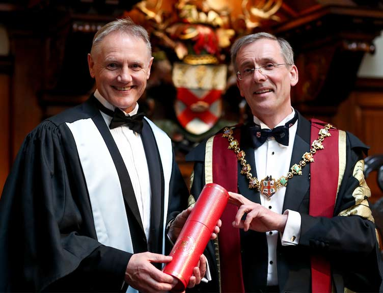 Joe Schmidt awarded Honorary Fellowship