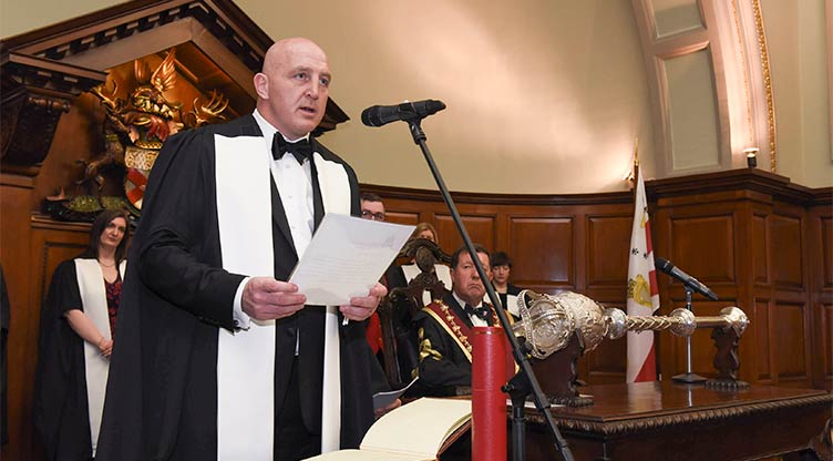 Keith Wood, honorary conferring