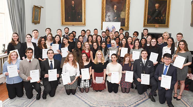 International Citizenship Awardees 2018