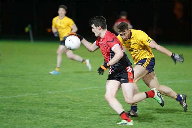 RCSI mens GAA team in action
