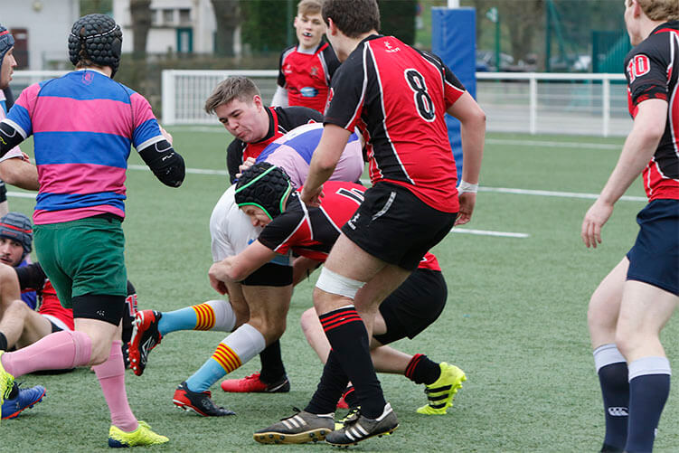 RCSI Rugby in Paris 2018